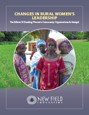 Changes in Rural Women's Leadership: The Effects of Funding Women's Community Organizations in Senegal